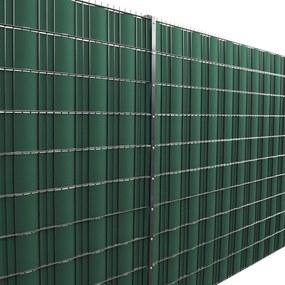 [neu.haus]® Dekoratívna clona - 35 m x 19 cm - zelená
