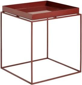 HAY Stolík Tray Table 40x40, chocolate