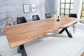 Luxusný jedálenský stôl Massive X 200 cm akácia