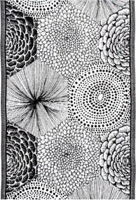 Utierka Ruut 48x70, čierno-biela Lapuan Kankurit