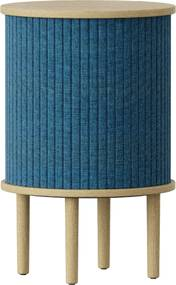 Nočný stolík Audacious dub, 5 farieb - UMAGE Farba: petrolejovo modrá