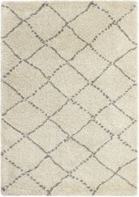 Sivo-krémový koberec Think Rugs Royal Nomadic Cream & Grey, 120 × 170 cm