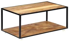 vidaXL Konferenčný stolík 90x50x40 cm recyklovaný masív