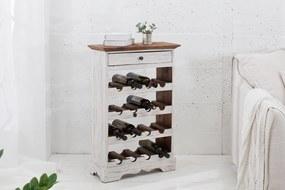 Bighome - Regál na víno LE FLEUR 86 cm