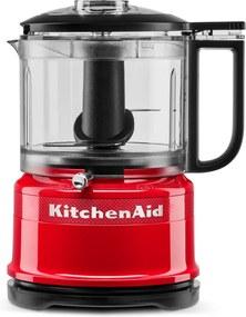 KitchenAid Mini Food Procesor Queen of Hearts 5KFC, vášnivá červená