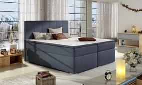 Moderní čalouněná boxspring postel Lilien 180 x 200 09
