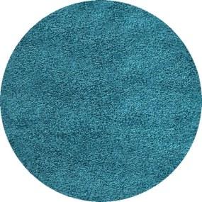 Ayyildiz koberce Kusový koberec Dream Shaggy 4000 Turkis kruh - 120x120 kruh cm