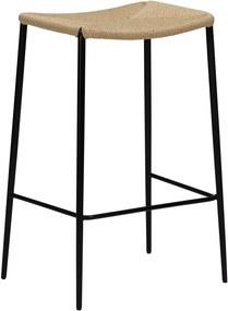 Béžová prírodná barová stolička DAN-FORM Denmark Stiletto