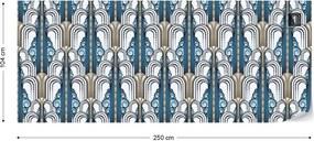 Fototapeta GLIX - 1920's Retro Pattern 2 + lepidlo ZADARMO Vliesová tapeta  - 250x104 cm