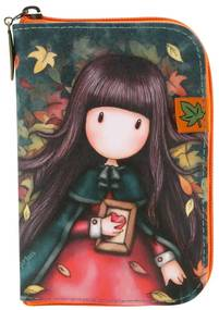 Santoro London - Skladacia Nákupná taška - Gorjuss - Autumn Leaves