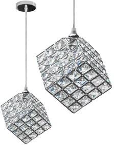 TooLight Stropní svítidlo Glamour Cube chrom