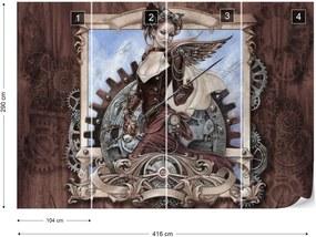 Fototapeta GLIX - Alchemy Gothic 6 + lepidlo ZADARMO Vliesová tapeta  - 254x184 cm