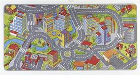 Detský koberec so sivými detailmi Hanse Home City, 200 × 300 cm