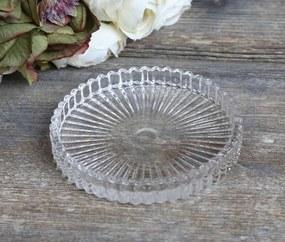 Chic Antique Okrúhla sklenená tácka Glass