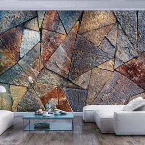 Fototapeta - Pavement Tiles (Colourful) 200x140 + zadarmo lepidlo