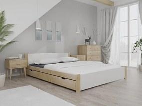 Posteľ IKAROS 120 x 200 cm, borovica Rošt: Bez roštu, Matrac: Matrac Somnia 17 cm