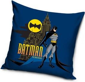 Poťah na vankúšik Batman modrá