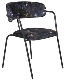 Arrow stolička kvetinová čierna