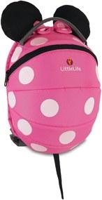 LittleLife Disney Kids Daysack - Pink Minnie