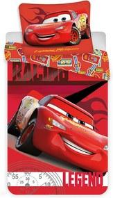 Detské obliečky Cars Blesk McQueen 02 140x200 70x90 cm Mikrovlákno Jerry Fabrics