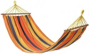 S1124661 DR Hojdacia sieť Valéria 200 x 100 cm Oranžová