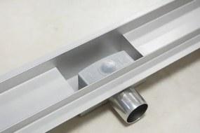 EURO Sprchový podlahový žľab 70 cm - DIERKY M7002