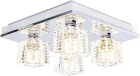 Eglo EGLO 13546 - LED Stropné svietidlo ISELLA 4xG9/33W + LED / 2,4 W EG13546