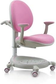 Detská stolička Carol, ružová
