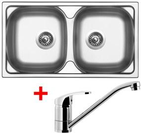 Set Sinks OKIO 780 DUO V matný + batéria PRONTO