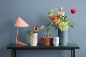 KÄHLER Keramická váza Kabell Dusty Blue 26,5 cm