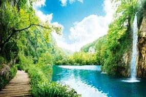 Dimex SK Fototapeta Relax v lese 4 rôzne rozmery S - 110x220 cm