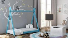 Detská posteľ Teepee 180x80 modrá