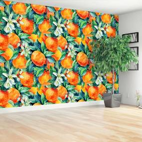 Fototapeta oranžové plody