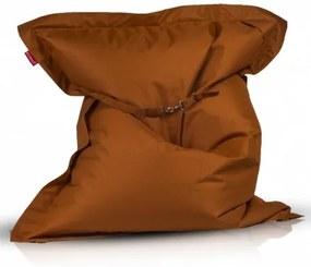 Ecopuf Sedací vankúš ECOPUF - Pillow CLASSIC polyester NC11 - Hnedá