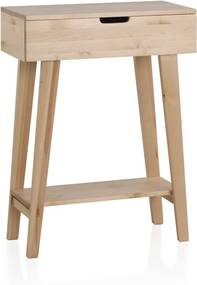Príručný stolík z brezového dreva Geese Pure