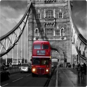 AG Design Obraz na stenu London Bus Akrylové plexisklo 29x29 cm