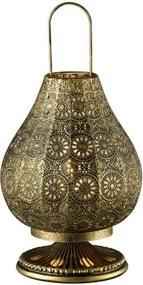 Stolná lampa Jasmin 503700104, mosadzná