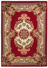 vidaXL Orientálny koberec, perzský dizajn 160x230 cm, červený/béžový