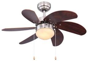 Globo Globo 03810 - Stropný ventilátor RIVALDO 1xE14/60W/230V GL5369