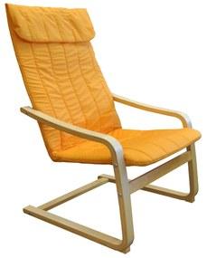 idea Kreslo LISA oranžové K79
