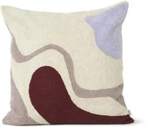 ferm LIVING Vankúš Vista Cushion Off White 50 x 50 cm