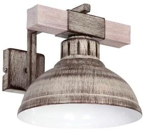 Luminex Nástenné svietidlo HAKON 1xE27/60W/230V svetlá LU9059