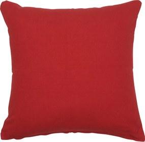Posteľná obliečka na vankúš Červená 80x80 cm