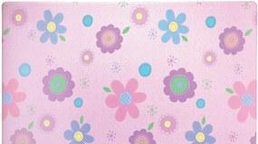 Oboustranný protiskluzový koberec Pohádková země/květy - 140x230 cm