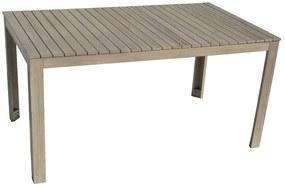 Záhradný stôl obdĺžnikový CHESTERFIELD (sivá patina)