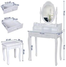 Toaletný stolík Marie Thérése