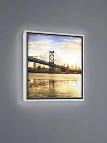 TRIO Reality R22140201 Bridge dekoratívny obraz LED 1x12W 3000K