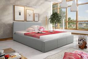 Manželská posteľ 180 cm Palermo (s roštom)