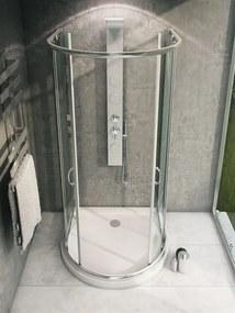 MAXMAX Sprchovací kút ROMANCE 100x90 cm s vaničkou