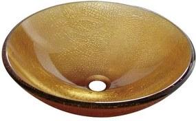 Umývadlo na dosku Sapho 42x42 cm, bez otvoru pre batériu 2501-03